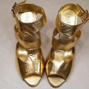 LAUREN Ralph Lauren Baird T-Strap Heels